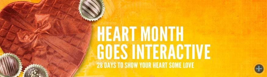 Heart month goes interactive