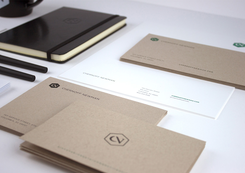 Chernoff Newman Stationery Package