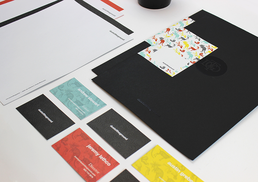 Dust of the Ground Stationery Package