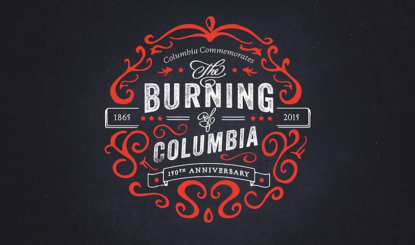 Burning of Columbia Logo