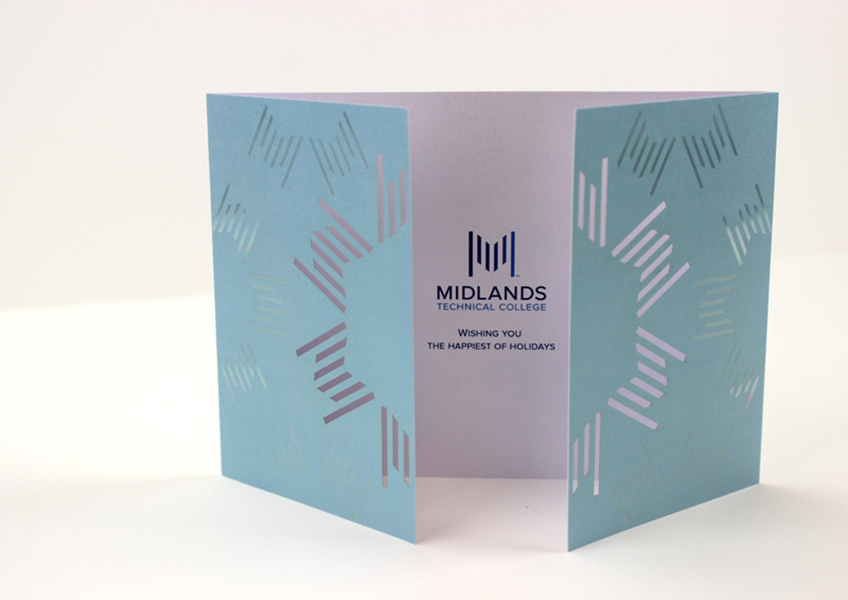 Midlands Technical College Holiday Card