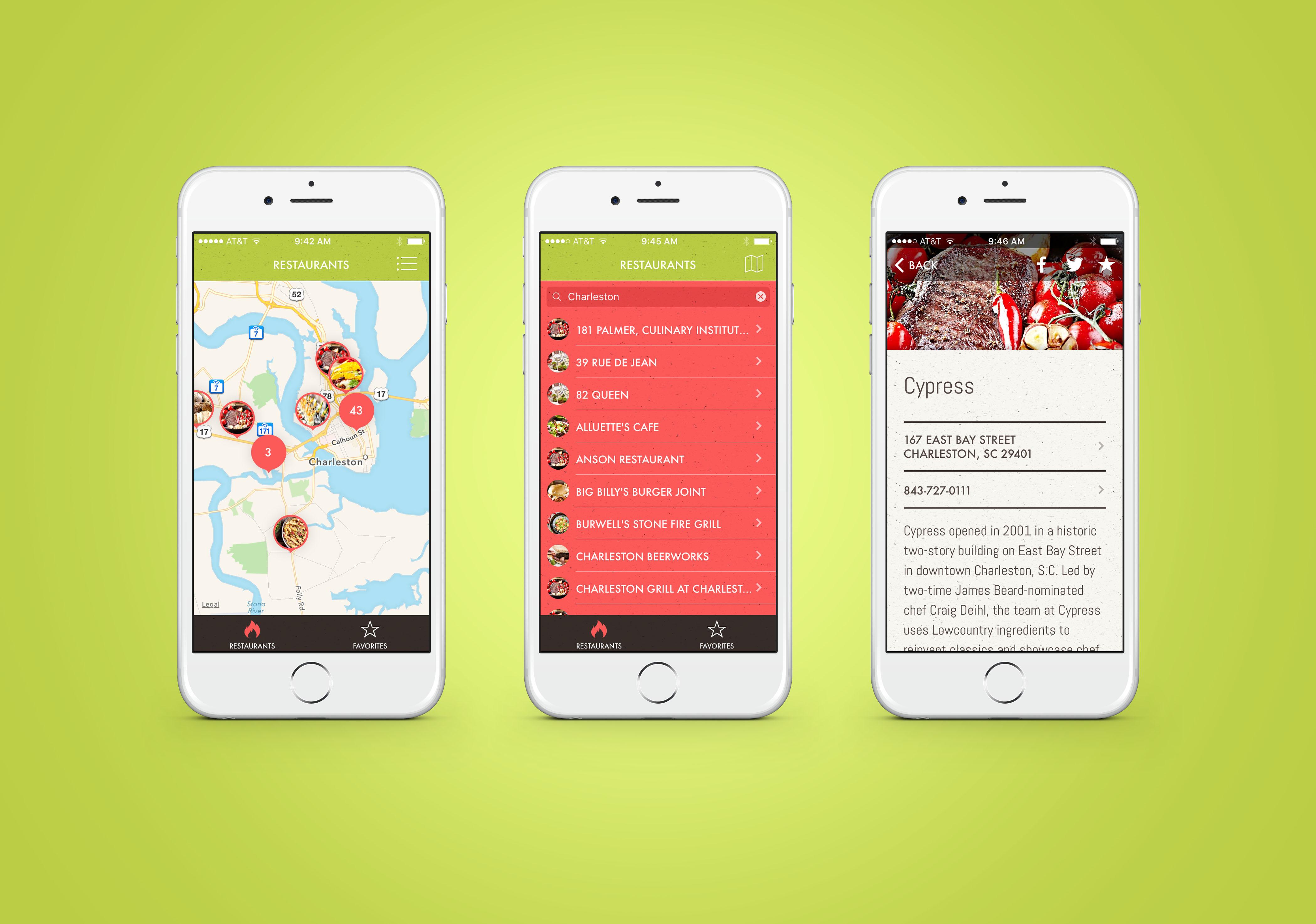 The Fresh on the Menu app garnered a Gold Addy