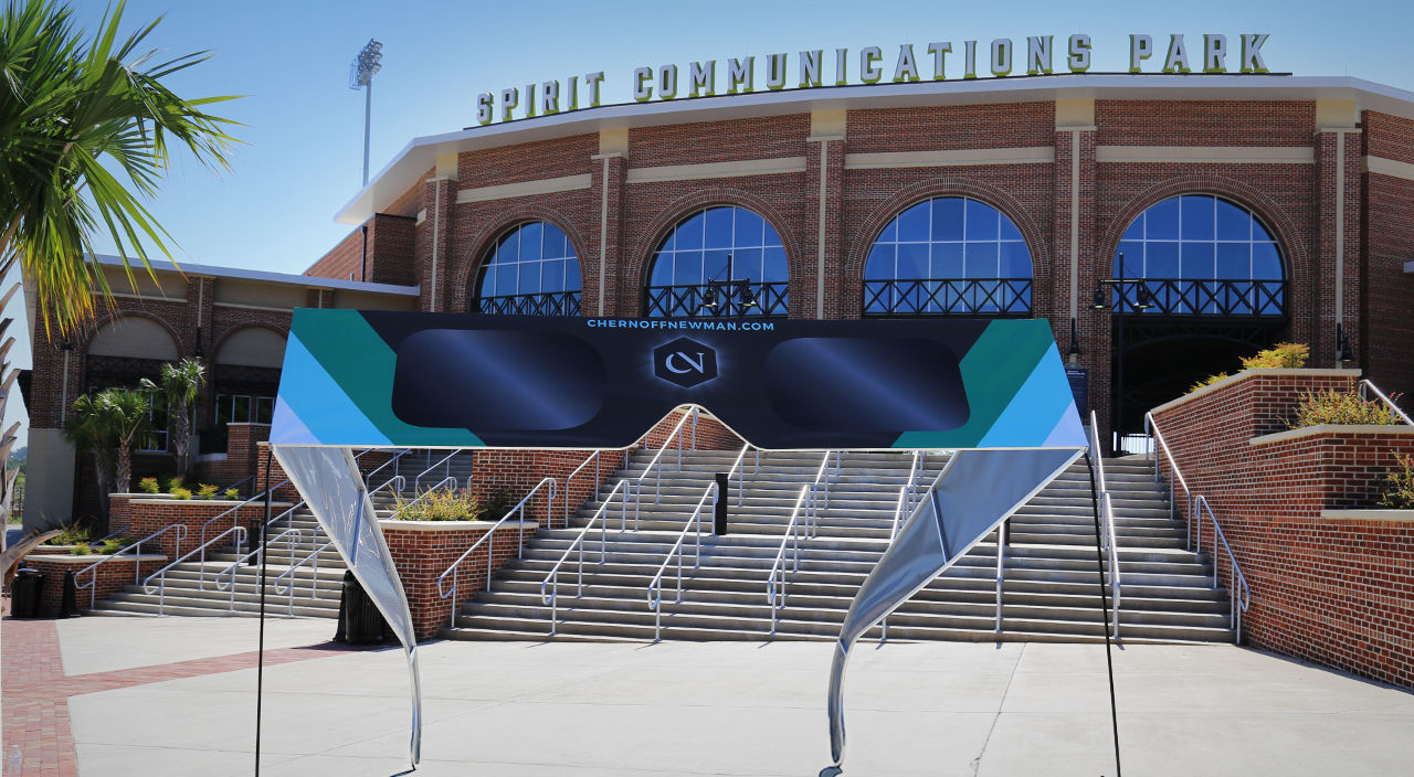 #thebigspectacle Glasses - Spirit Communications Park, Columbia, SC
