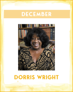 DORRIS WRIGHT - SC African American History Calendar December