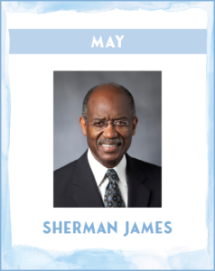SHERMAN JAMES - SC African American History Calendar May