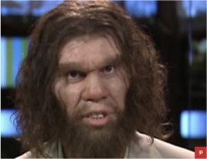 Caveman Advertising Example